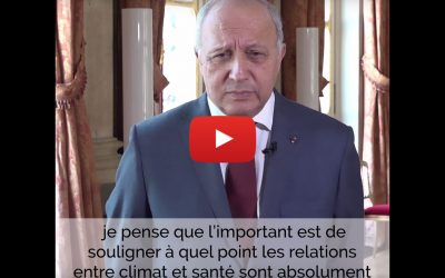 Interview Laurent Fabius ancien président de la COP 21